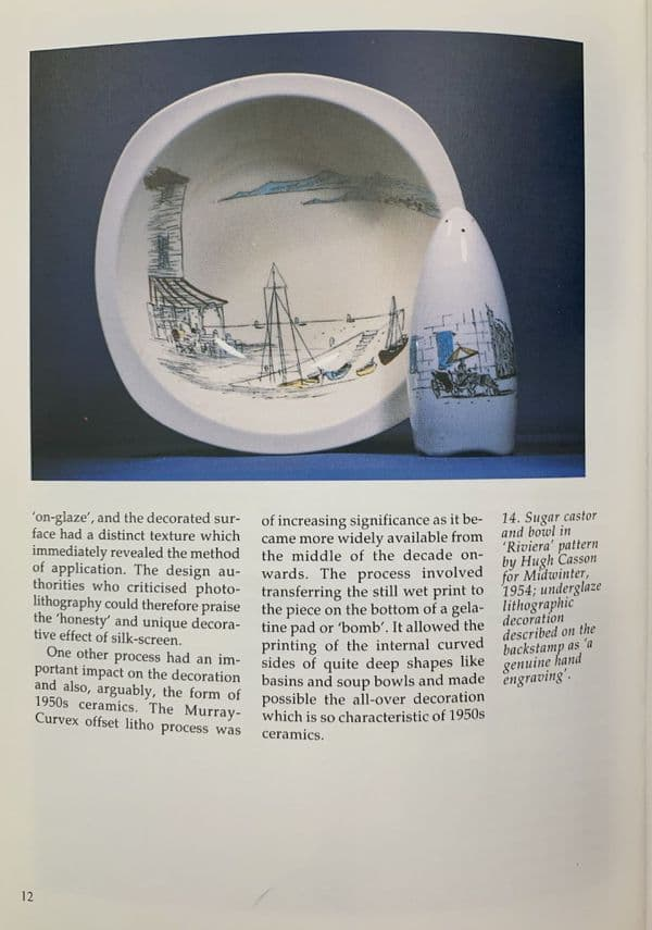 Ceramics of the 1950s - The Shire Book